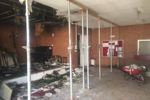 Damaged Dance Hall