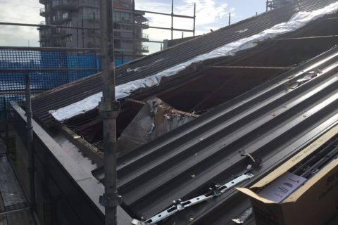Defective Roof