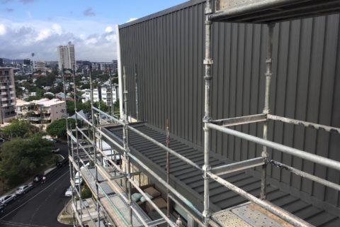 8 Storey High Scaffolding